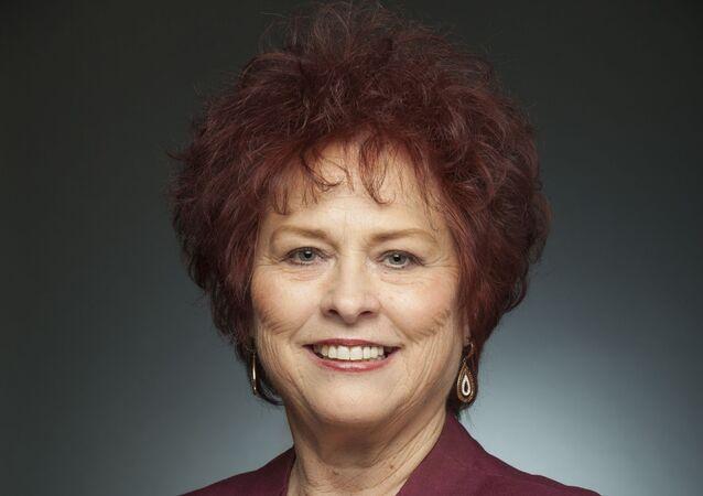 A senadora estadual Sylvia Allen.