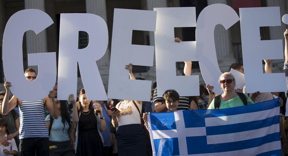 Manifestantes protestam contra a imposição de medidas de austeridade