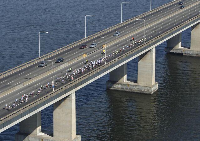 Ponte Rio-Niterói no Rio de Janeiro (foto de arquivo)