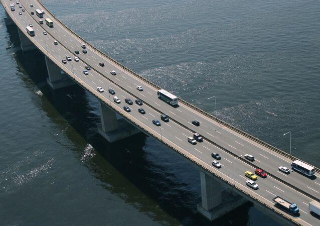 Ponte Presidente Costa e Silva, popularmente conhecida como Ponte Rio–Niterói (arquivo)