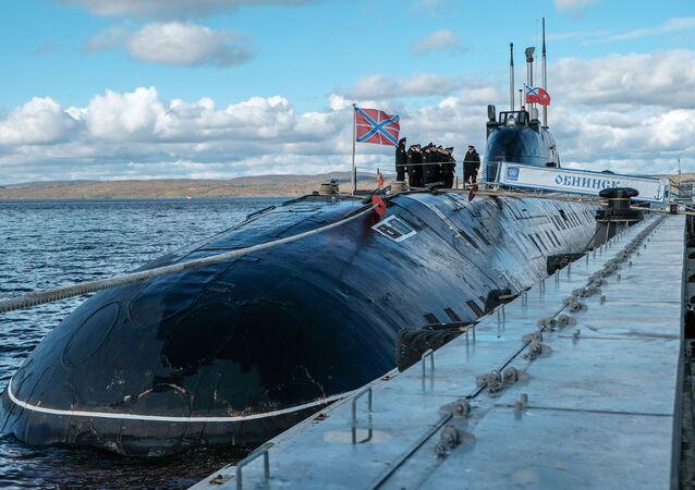 Submarino nuclear do projeto 671RTMK (imagem do arquivo)