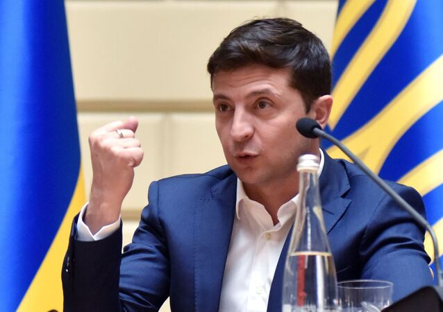 Vladimir Zelensky, presidente da Ucrânia, visita Londres nesta quarta-feira (7)