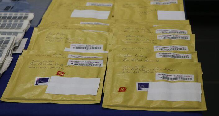 Envelopes para envio de notas falsas