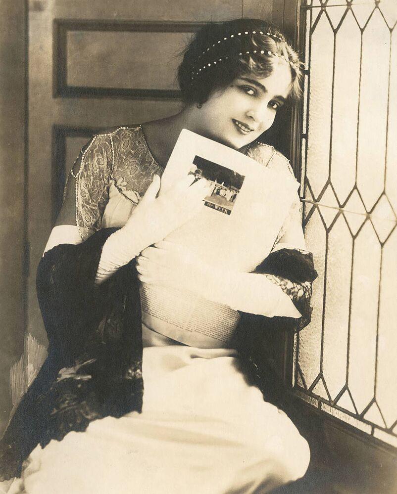 Atriz americana de filme mudo Alice Joyce