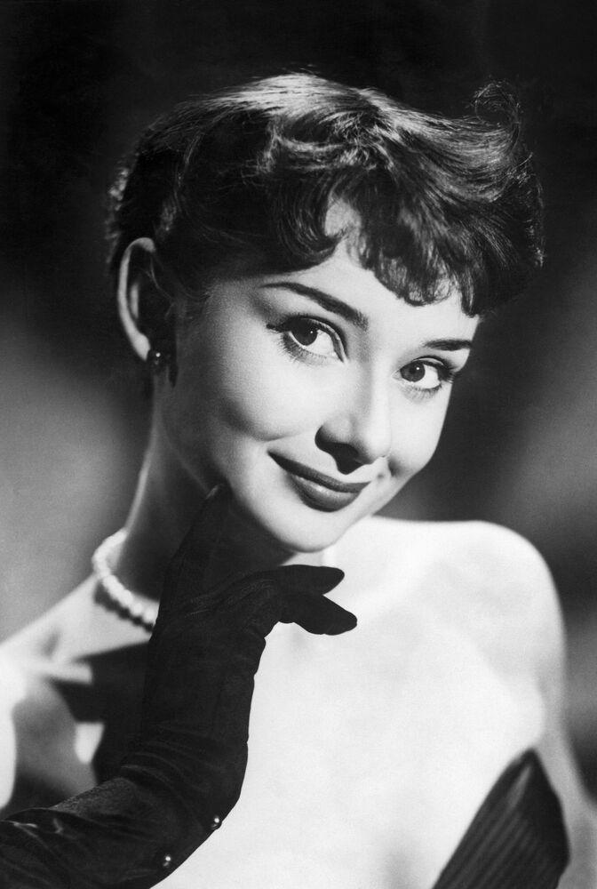 Atriz britânica Audrey Hepburn