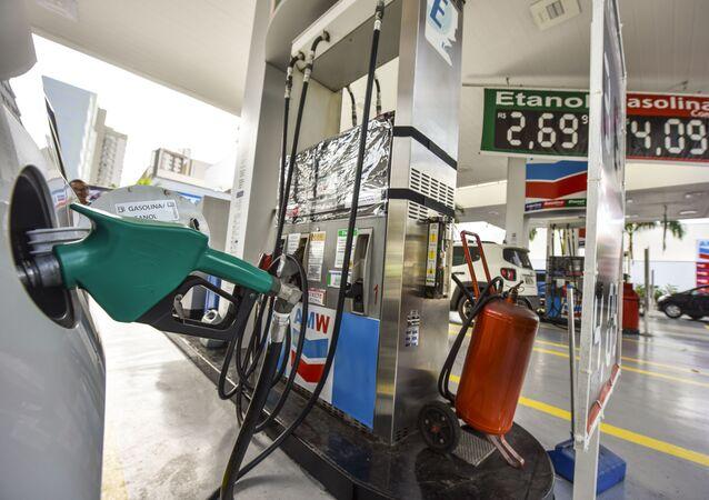 Posto de gasolina em São José dos Campos (SP) (imagem referencial)