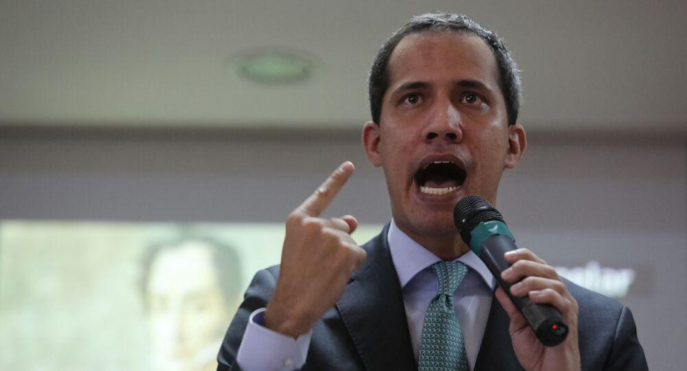 Juan Guaidó, líder da oposição venezuelana (foto de arquivo)