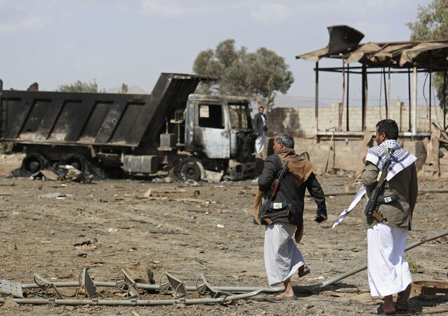 Militantes Houthis.