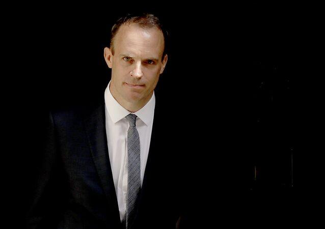 Chanceler britânico Dominic Raab