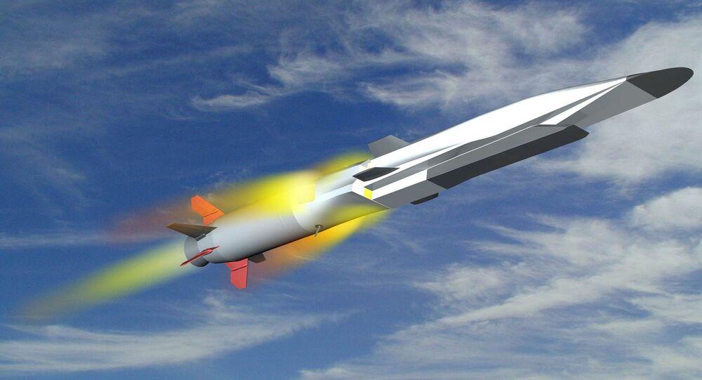 Imagem ilustrativa do míssil 3M22 Tsirkon