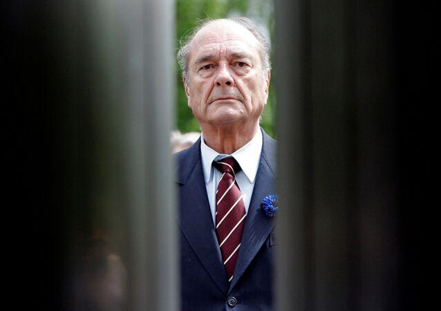 Ex-presidente francês, Jacques Chirac