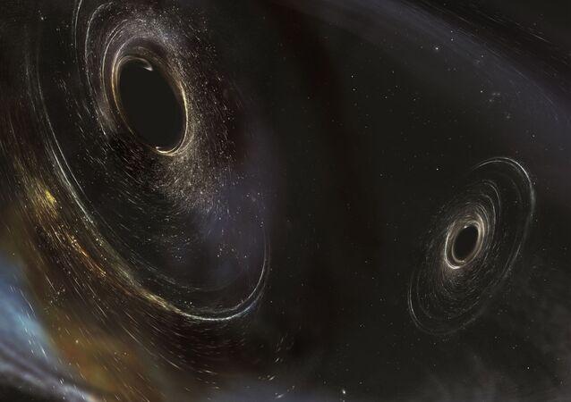 Buracos negros a 3 bilhões de anos-luz