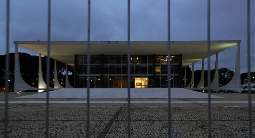 Prédio do Supremo Tribunal Federal (STF), em Brasília