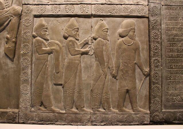 Uma imagem da antiga Babilônia