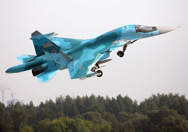 Caça-bombardeiro multifunção Su-34