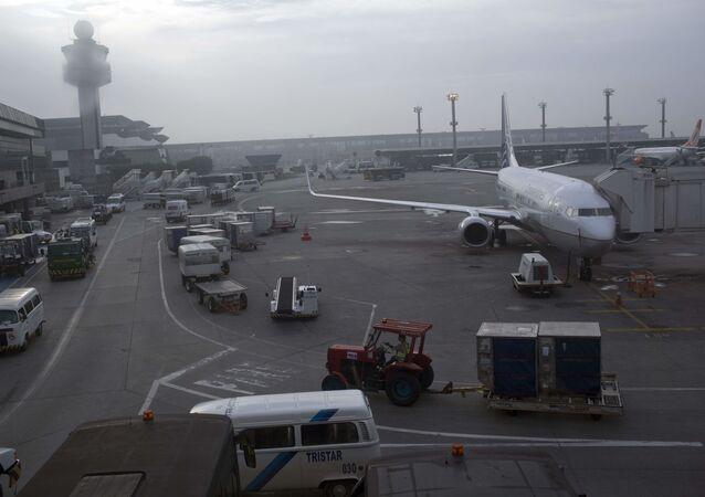 Aeroporto Internacional de Guarulhos, em São Paulo