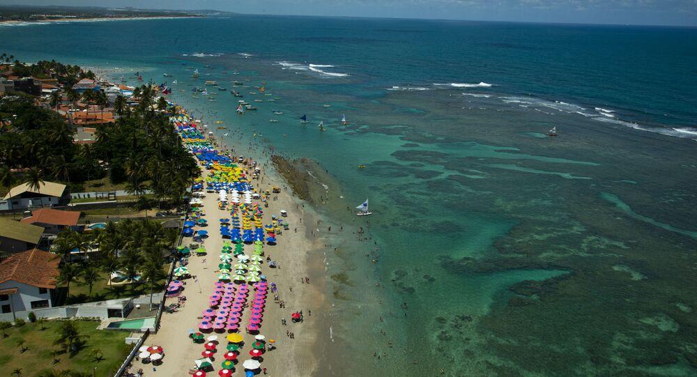 Praia de Macaraíbe, no Nordeste (imagem referencial)