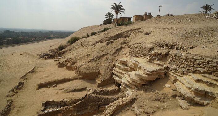 Região onde catacumba de 2.000 anos foi encontrada por arqueólogos no Egito