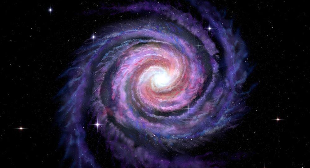 O esporão de Cepheus, na Via Láctea, tem estrelas enormes com três vezes o tamanho do Sol e a cor azul é explicada por seu calor escaldante