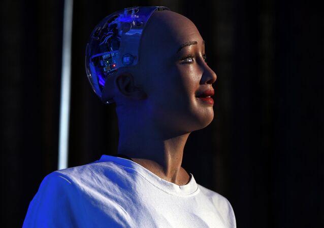 Robô Sophia da Hanson Robotics'