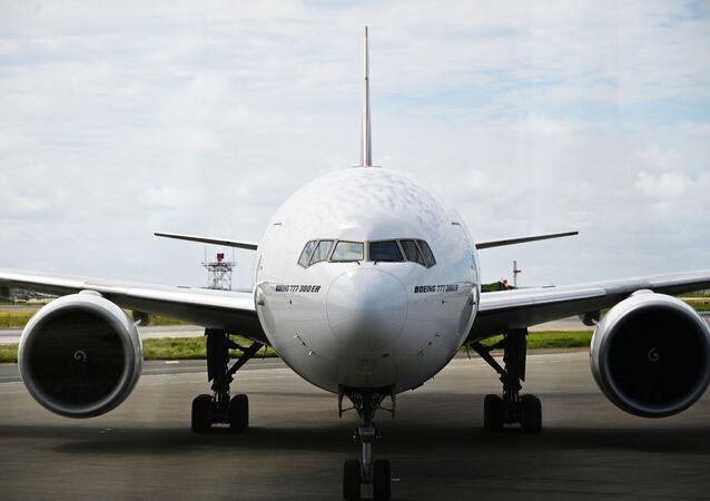 Boeing 777 (foto de arquivo)