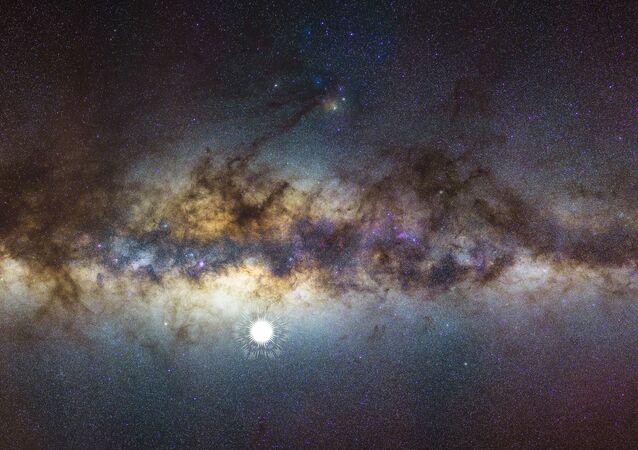 Imagem da Via Láctea