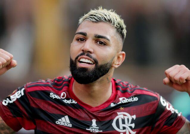 Gabriel marcou duas vezes e garantiu o bi do Flamengo na Libertadores