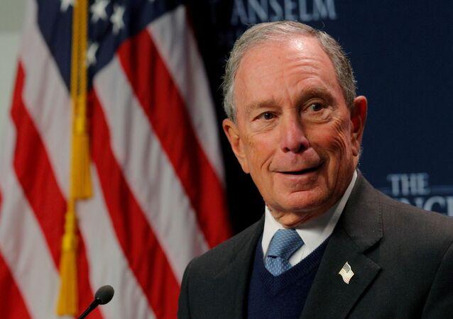 Bilionário e ex-prefeito de Nova York, Michael Bloomberg, entrou oficialmente na corrida presidencial norte-americana, em 25 de novembro de 2019