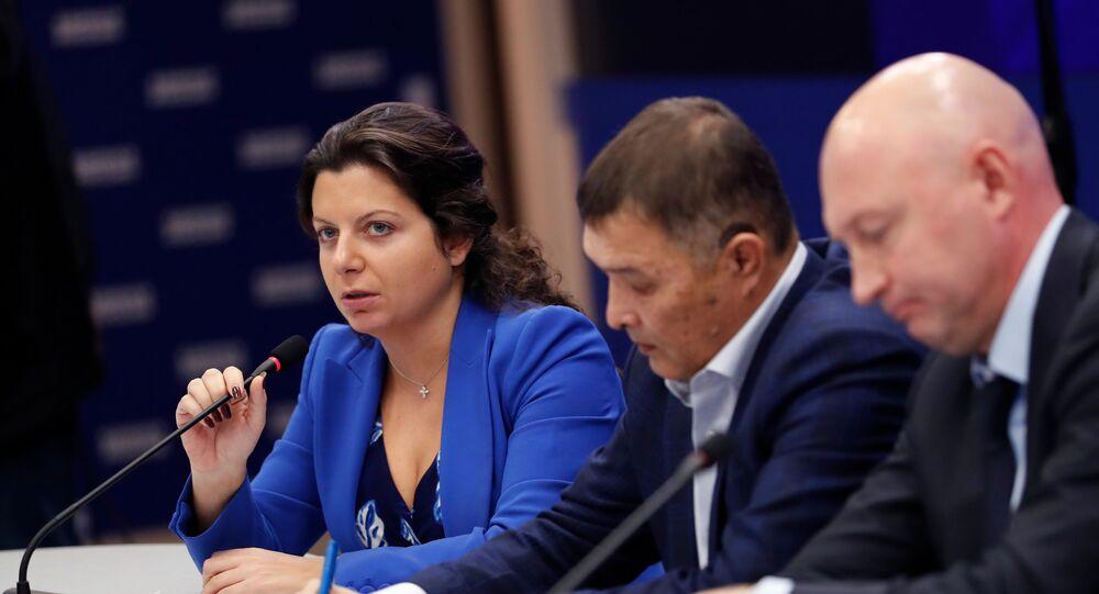 Editora-chefe do canal RT e da agência Sputnik, Margarita Simonyan