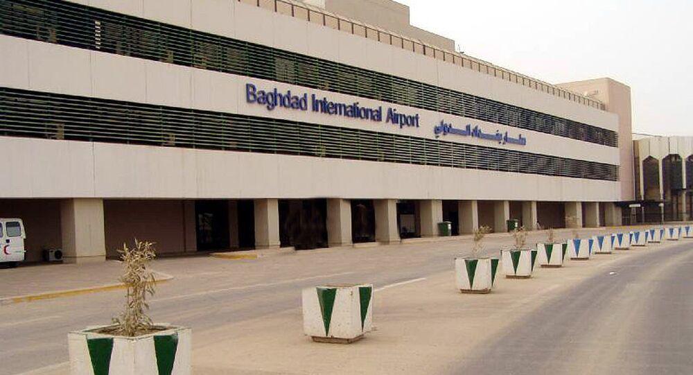 Aeroporto Internacional de Bagdá, Iraque (imagem de arquivo)