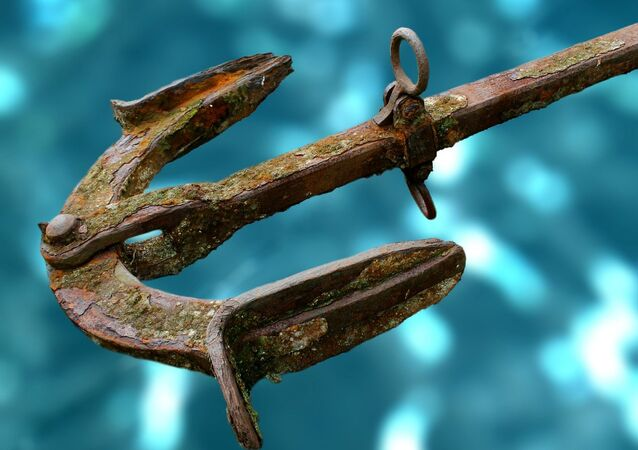 Âncora de ferro (imagen referencial)
