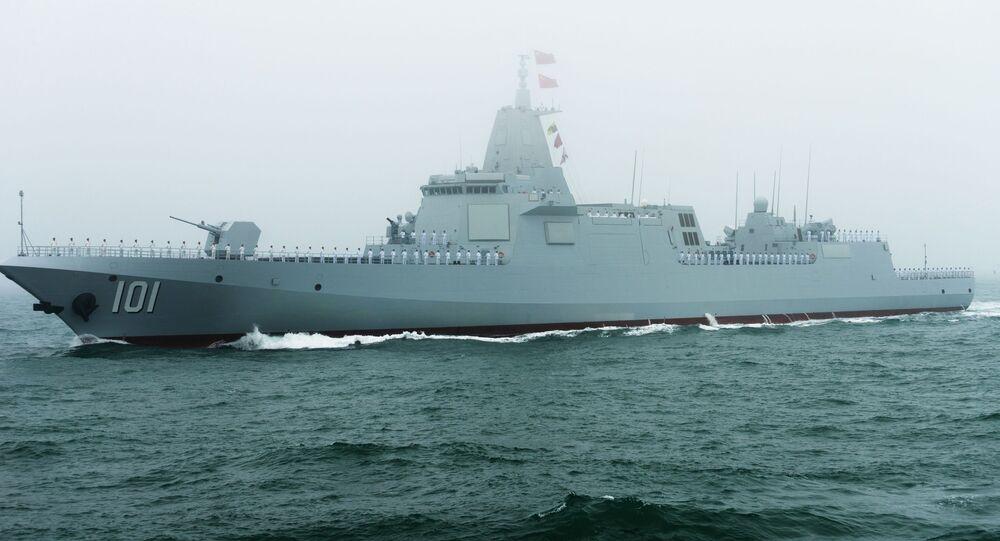 Novo destróier classe 055 da Marinha chinesa