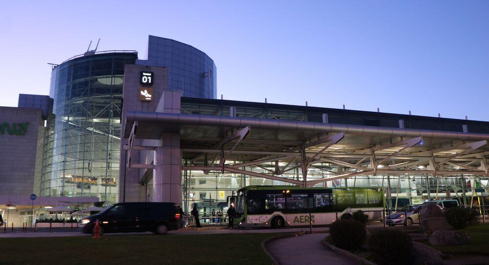Aeroporto de Lisboa durante greve de 27 de dezembro de 2019