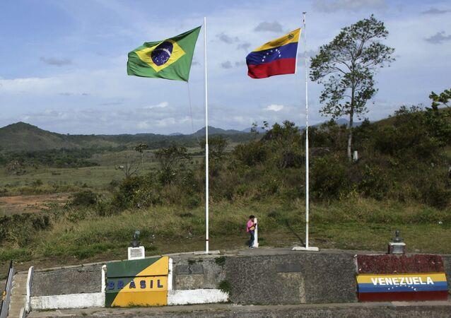 Fronteira entre a Venezuela e o Brasil