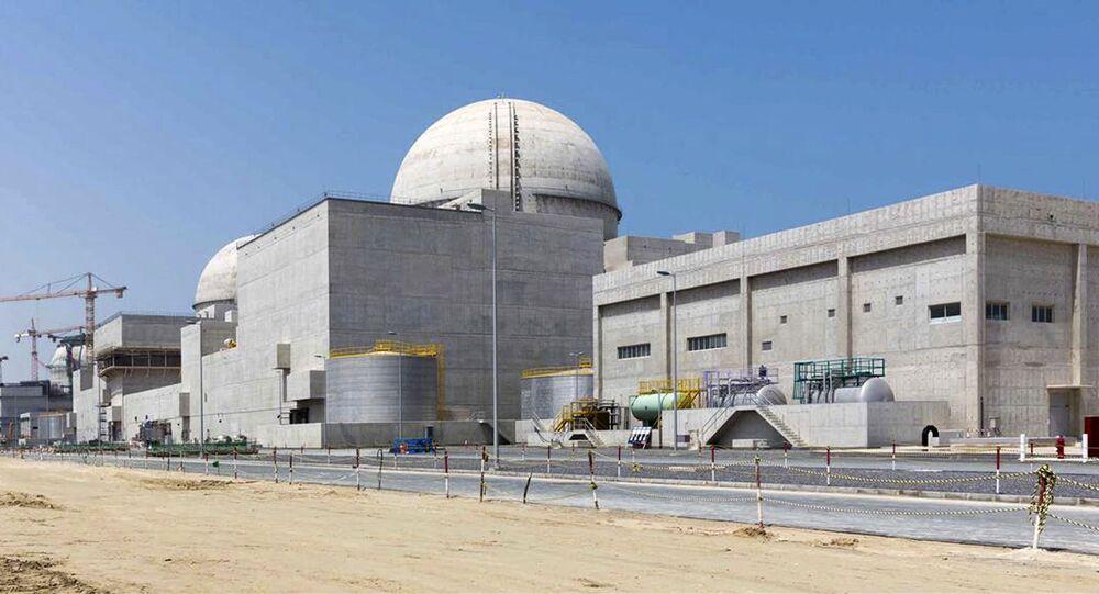 Central nuclear de Barakah nos Emirados Árabes Unidos