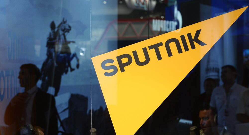 Logo da emissora Sputnik