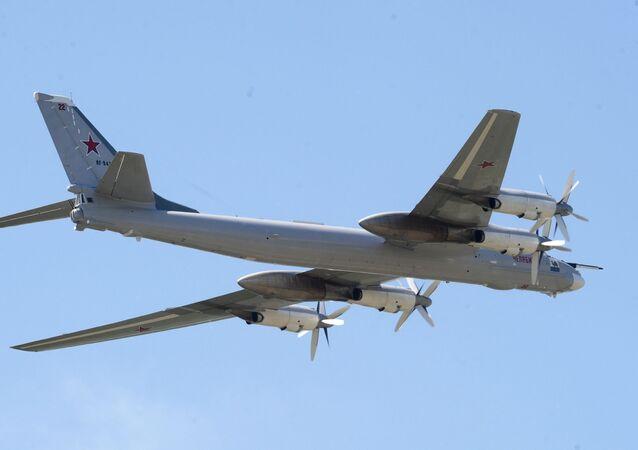 Bombardeiro estratégico russo Tu-95