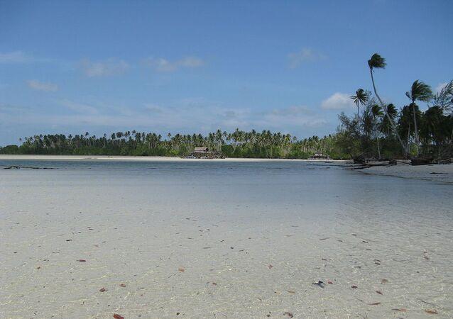 Ilha de Bintan, que faz parte do arquipélago Riau da Indonésia