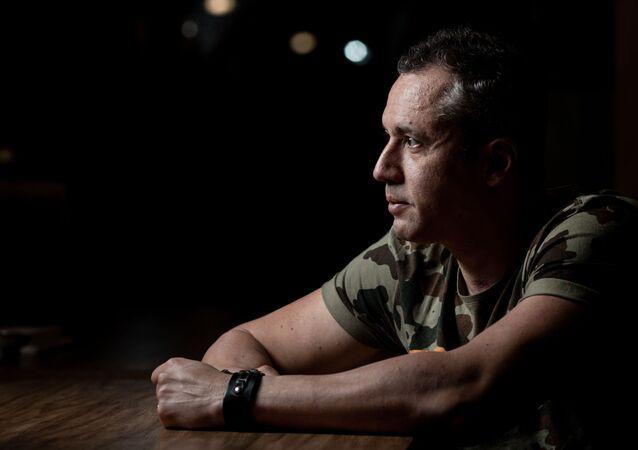 O secretário de Cultura, Roberto Alvim.