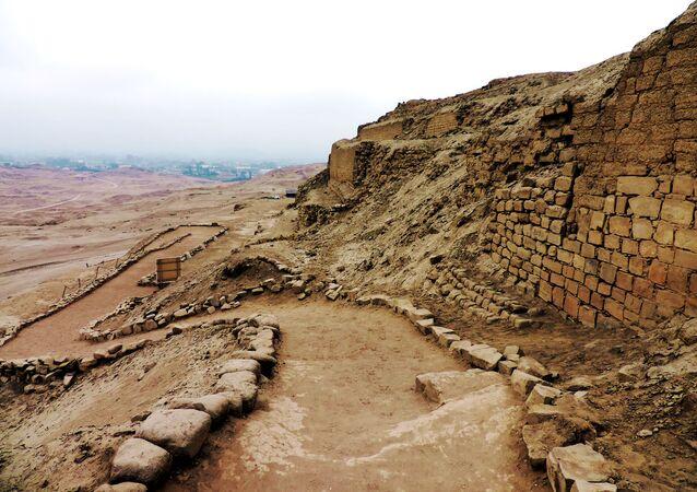 Complexo arqueológico de Pachacamac, Peru