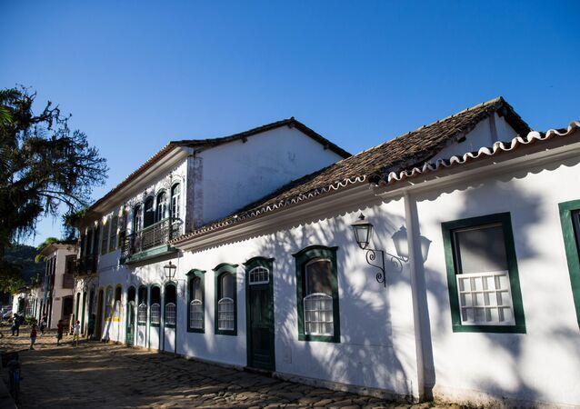 Centro histórico da cidade de Paraty, cidade da Costa Verde do Rio de Janeiro