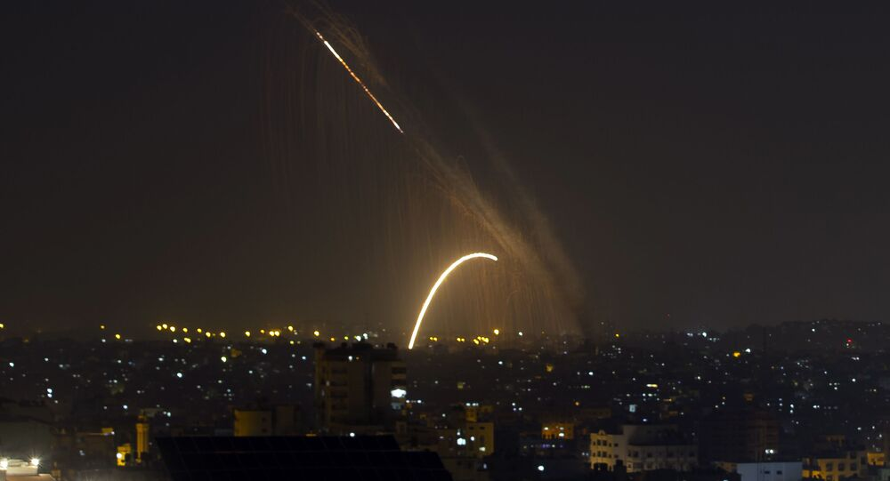 Foguetes são lançados da Faixa de Gaza em direção a Israel