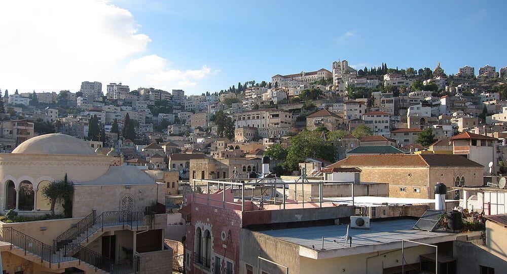 Cidade sagrada de Nazaré, em Israel (imagem de arquivo)