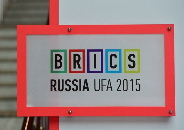 Logo da cúpula dos BRICS