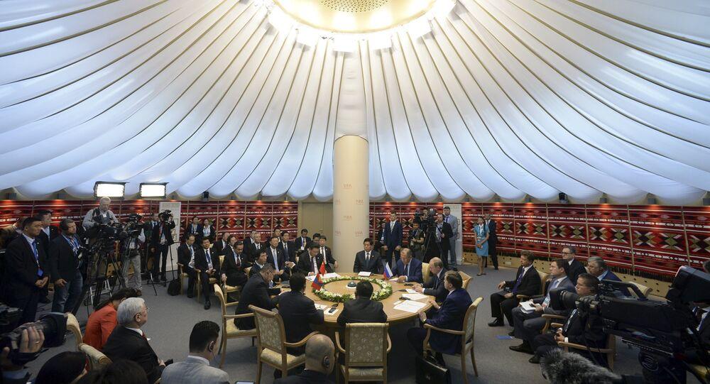 Ufá hospeda as cúpulas do BRICS e da SCO