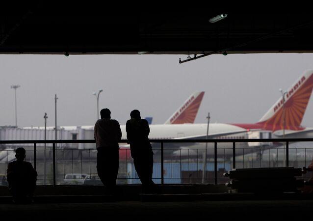 Terminal 3 do Aeroporto Internacional Indira Gandhi na Índia.