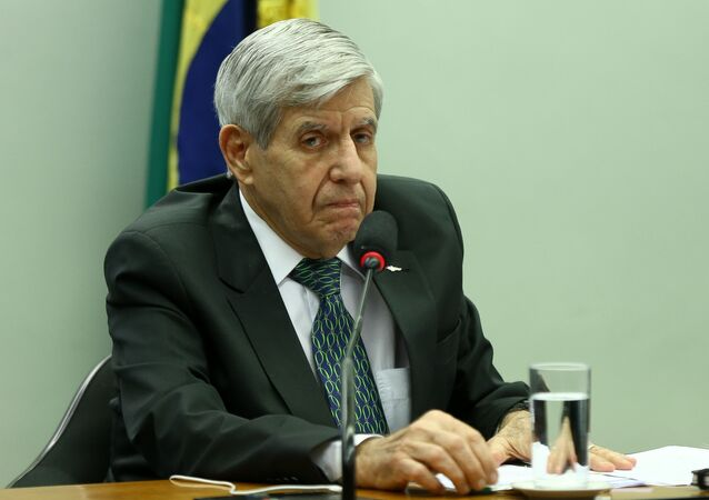 O ministro-chefe do GSI (Gabinete de Segurança Institucional), General Augusto Heleno.
