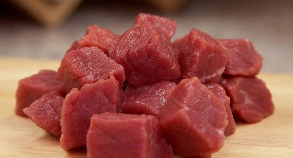 Pedaços de carne (foto de arquivo)