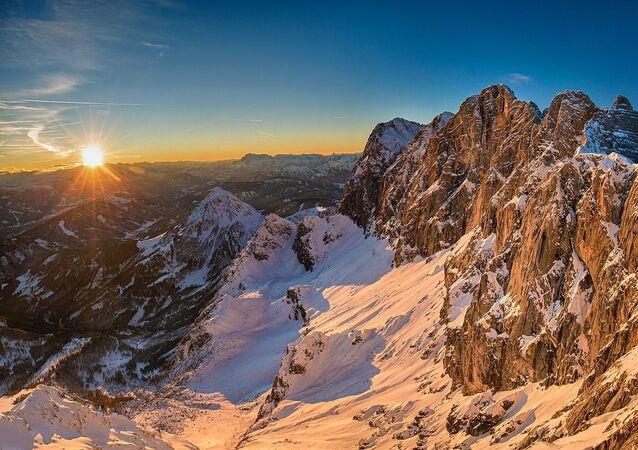 Montanhas de Dachstein