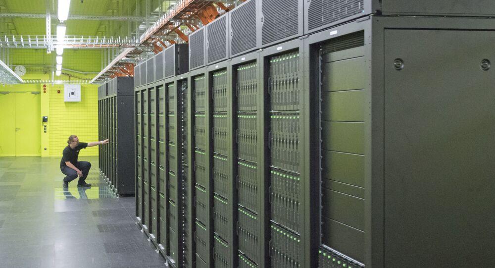 Demonstração de supercomputador (imagem referencial)